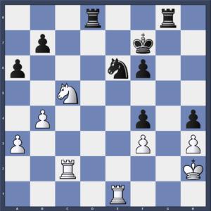 Engelking gegen Sauer nach 33.Sc5