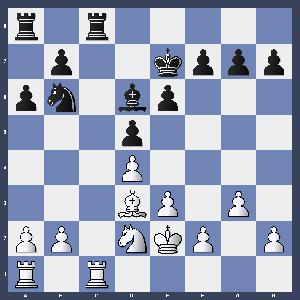 Sauer gegen Rother nach 20. Ld3