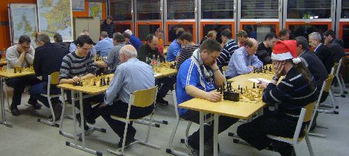 Während der Finalrunden
