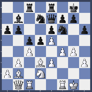 M.Kyas gegen S.Nülle nach 17. dxe5
